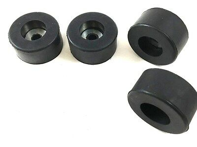 AIR COMPRESSOR RUBBER FEET PADS (SET OF 4) Vibration Pads 1-1/2'' OD