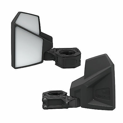 Kolpin All-Fit Universal UTV Break-Away Left & Right Side Mirror Set Heavy Duty