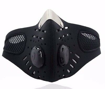 Motorcycle Ski Anti-pollution Mask Sport Mouth-muffle Dustproof W/ Filter
