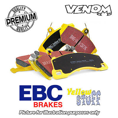 EBC Yellowstuff Front Brake Pads for Nissan Qashqai 1.6TD (14-) DP43032R