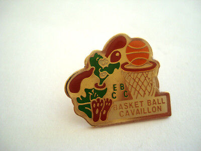 PINS RARE VINTAGE CLUB  BASKET BALL CAVAILLON SPORT wxc 16