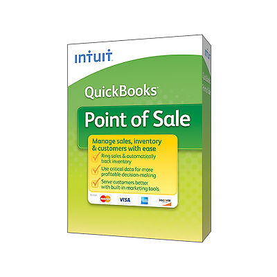 Quickbooks POS ®  2015 Version 12.0 Pro Upgrade  $0 Motnhly payments for 1yr*