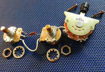 how to clean vintage fender guitar switches pots