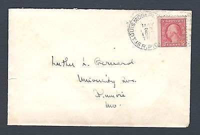 mjstampshobby 1917 US Vintage Antique Cover Nice (Lot 2286)