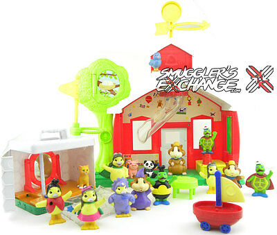 Wonder Pets School House, Fly Boat, 18 Figures, Airplane, Truck, YOU GET IT ALL!