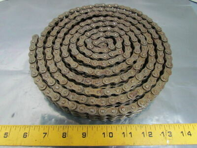 Browning 40-2 No 40 Double Strand Riveted Roller Chain 1/2 Pitch 10 Ft