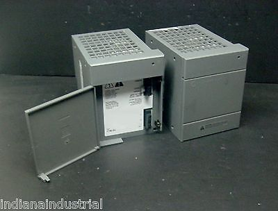Allen Bradley 1746-P4 1746P4 SLC 500 Power Supply Rack Chassis AC Good Door PLC