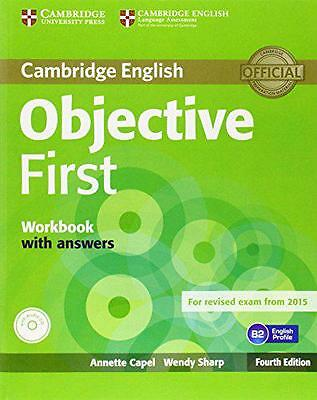 Objective First Certificate. Workbook With Answers. Con Espansi… - 9781107628458