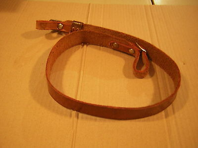 leather rifle strap