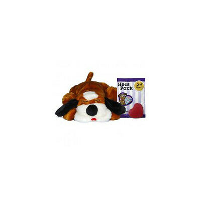 Smart Pet Love Snuggle Puppy Brown & White With Real Heartbeat