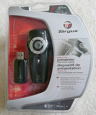 Targus Wireless Presenter With Cursor Control and Laser Pointer