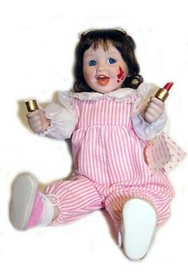 Ashton Drake Porcelain Doll KELLY Don't I Look Pretty Caught in the Act 1993