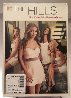 Hills: The Complete Fourth Season [3 Discs] DVD Region 1, NEW Sealed