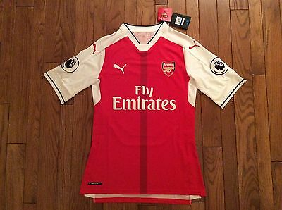 PUMA Mesut Özil Arsenal Authentic Home Jersey 16/17 BNWT