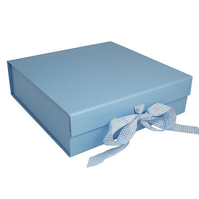 Blue Presentation Gift Box - Suitable for Breakfast Sets Plates Dishes Keepsakes