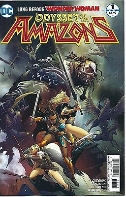 Odyssey of the Amazons #1 First Print