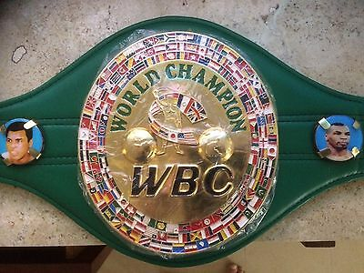 WOW!! $400 OFF-CHEAPEST AUTHENTIC TYSON SIGNED Mike Tyson SIGNED WBC BELT-COA