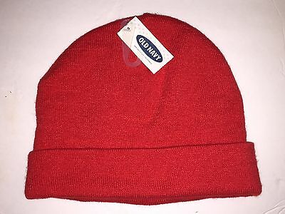 MEN S OLD NAVY Blue or Red Pom Beanie Hat -  8.79  091ea2aa967