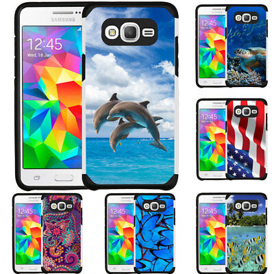 Slim Hybrid Armor Case Design Cover for Samsung Galaxy On 5 (G550) Galaxy On5