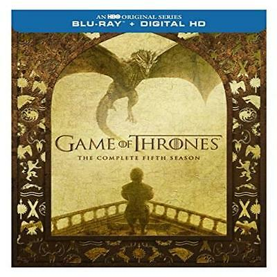 Game Of Thrones: The Complete Fifth Season 5 Blu-Ray 2016 Free Hbo Home Video Ne