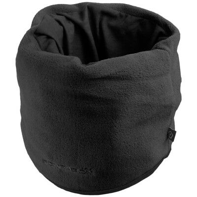Pentagon Fleece Neck Gaiter Warm Army Stretchable Security Military Snood Black