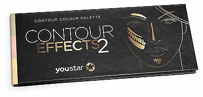 youstar – CONTOUR EFFECTS2 Palette, Multi Color Effects Palette, Contour, Puder,