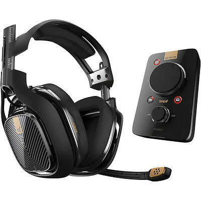 Astro A40 TR + Mixamp TR Black (PS4, PS3 & PC) Certified Refurbished✔ Free Case✔