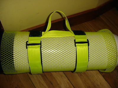 Black Or Yellow Cylinder Tank Carrier Carry Straps