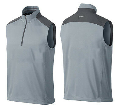 Nike Golf Dri-Fit 1/2-Zip Sleeveless Gilet Vest XXL ONLY RRP£59.99 1/2 PRICE
