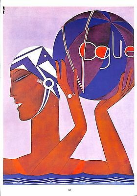 Vogue.Swim.Sport.Beachball.Print.Retro.Vintage.Art Deco.Art.Artist.Deco.Charm
