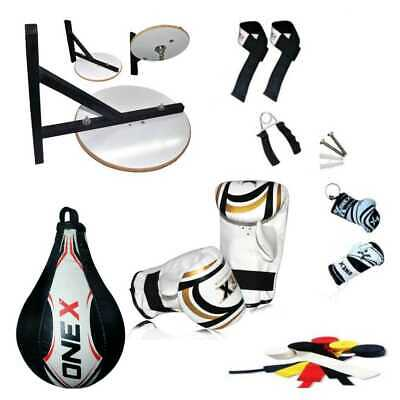 Boxing Speed Ball Platform + Adjustable Stand Boxing Gloves Bracket Rope Gripper