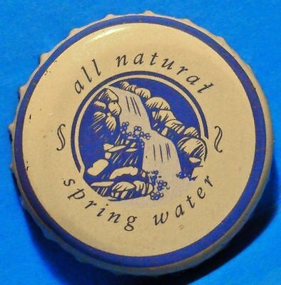 All Natural - Spring Water - Soda / Alcomix - Beer - Bottle Cap - Canada