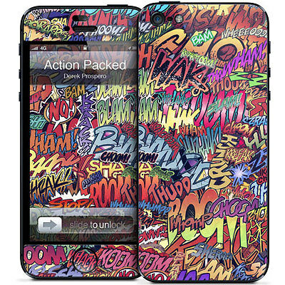 Gelaskins Protective Vinyl Skin for iPhone 5 - Action Packed