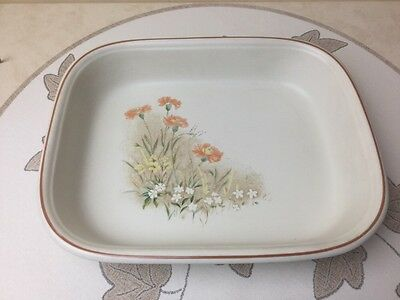 M&S Field Flowers Oblong Lasagne / Oven Roasting Dish Used