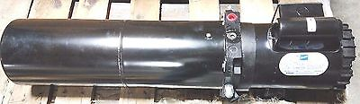New Double Acting Power Unit 2 Hp 1 Phase Doerr Motor / 3.5 Gallon Reservoir