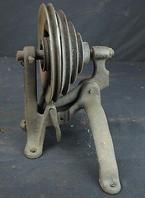 Singer Treadle Part – Double Pulley Friction Clutch – Cast Iron - Vintage