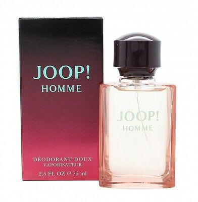 Joop! Joop Homme Deodorant Spray 75Ml - Men's For Him. New. Free Shipping