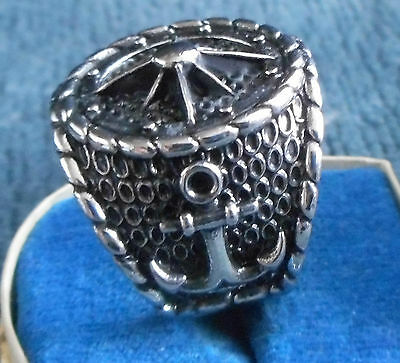 Massive GERMAN KREIGSAMARINE SILVER RING