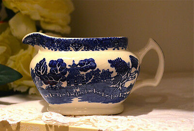 Blue Willow Creamer - Woods Ware  England