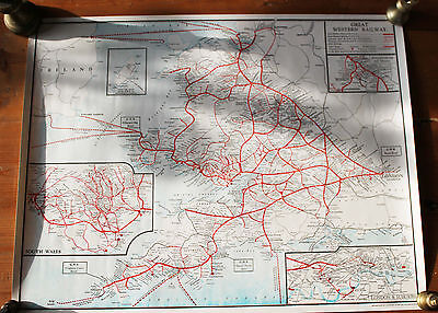Great Western Railway Birmingham and District Map
