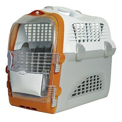Large Pet Dog Cat Carrier Box Basket Travel Safety Plastic Airline Approved NEW