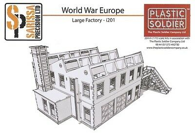 Sarissa Precision & Plastic Soldier 1:72 scenery - Factory - 20mm WWII, SCW