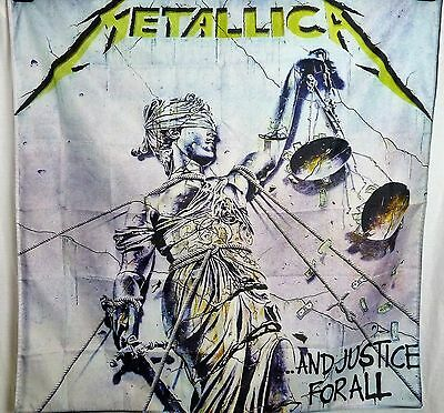 METALLICA And Justice For All HUGE 4X4 banner poster tapestry cd album