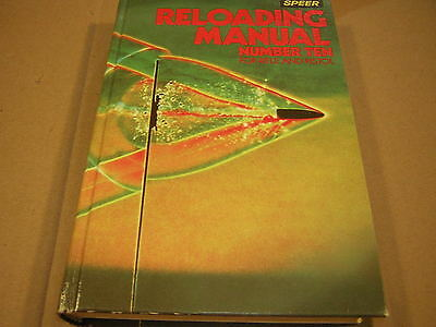 Speer reloading Manual #10