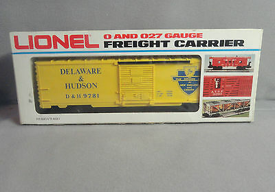 Vintage Lionel O Scale 6-9781 Delaware & Hudson D&H Box Car  (1977) New in Box