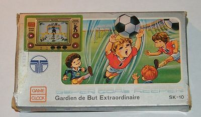 TRONICA SUPER GOAL KEEPER - Jeu électronique / Handheld game - BOXED 1983