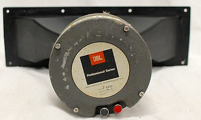 JBL 2420 High Frequency Compression Driver & Horn W/ New Diaphragm