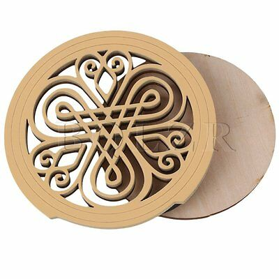 BQLZR 105mm Diameter Guitar Sound Hole Cover for 41inch Acoustic Guitar Type C