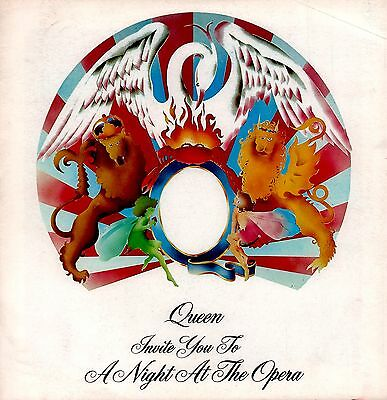 Queen 1976 A Night At The Opera Tour Program Book / Freddie Mercury / Vg 2 Nmt