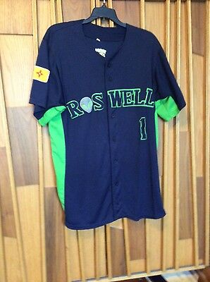 Roswell Invaders Game Used Jersey